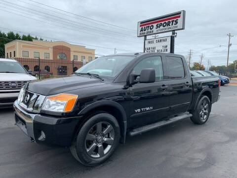 2015 Nissan Titan for sale at Auto Sports in Hickory NC