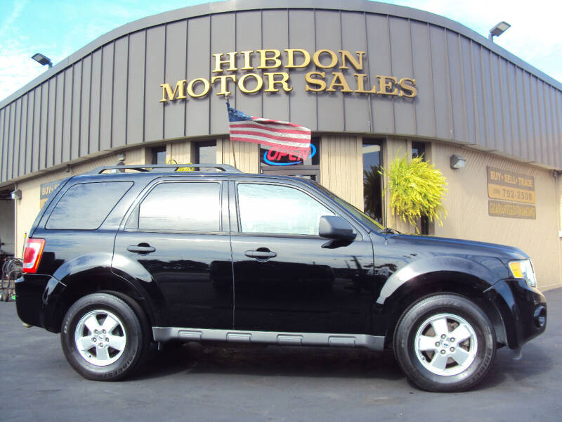 2010 Ford Escape for sale at Hibdon Motor Sales in Clinton Township MI
