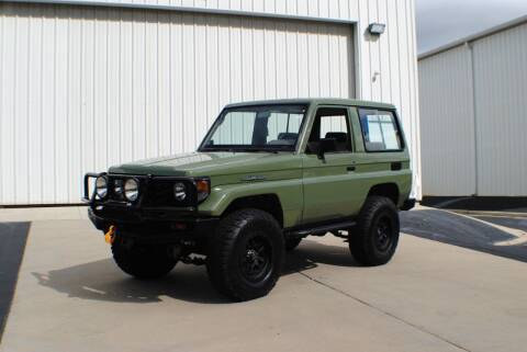 1993 Toyota Land Cruiser FZJ70 SERIES for sale at Euro Prestige Imports llc. in Indian Trail NC