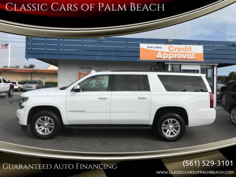 2019 Chevrolet Suburban for sale at Classic Cars of Palm Beach in Jupiter FL