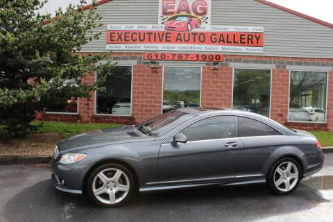 2007 Mercedes-Benz CL-Class for sale at EXECUTIVE AUTO GALLERY INC in Walnutport PA