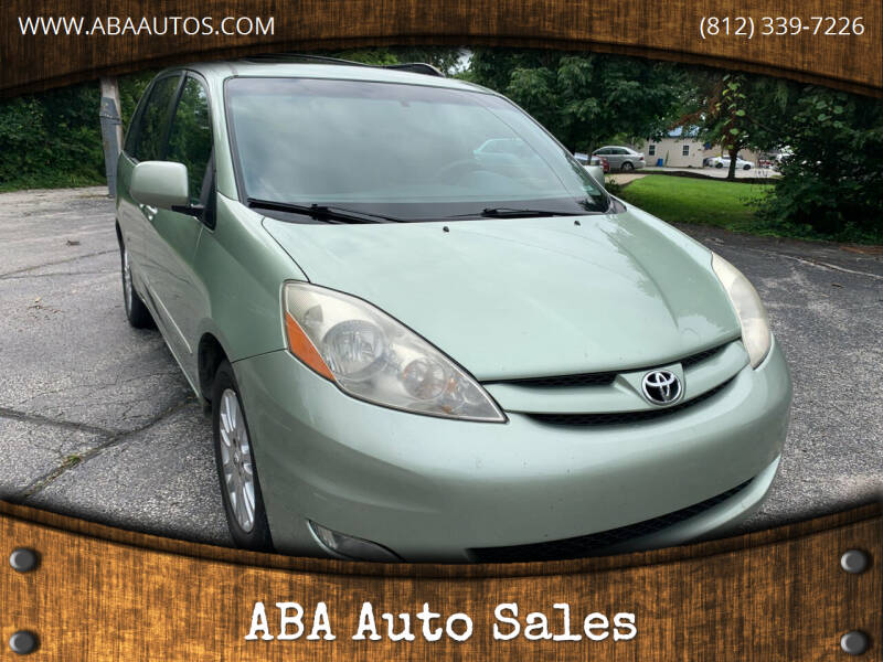 2008 Toyota Sienna for sale at ABA Auto Sales in Bloomington IN
