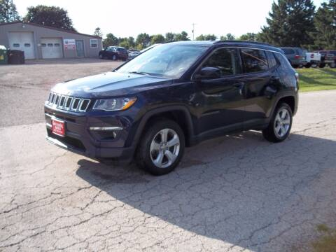 2017 Jeep Compass for sale at SHULLSBURG AUTO in Shullsburg WI