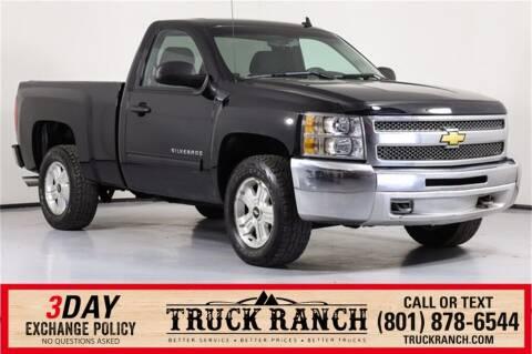 2012 Chevrolet Silverado 1500 for sale at Truck Ranch in Logan UT