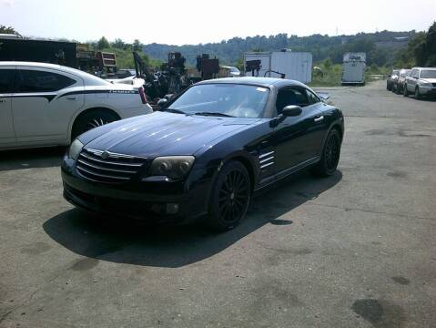 2005 Chrysler Crossfire SRT-6 for sale at MICHAEL J'S AUTO SALES in Cleves OH