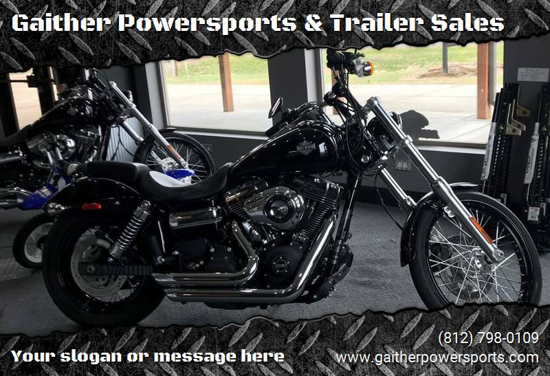 2015 Harley Davidson FXDWG   Wide Glide for sale at Gaither Powersports & Trailer Sales in Linton IN