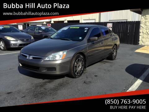 2006 Honda Accord for sale at Bubba Hill Auto Plaza in Panama City FL
