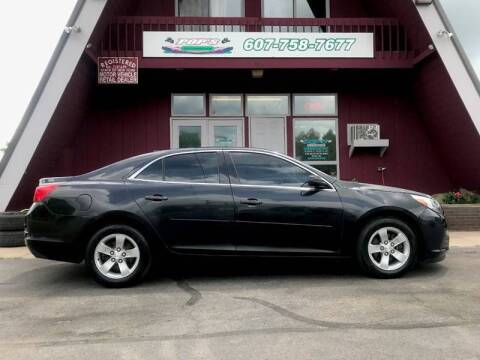 2013 Chevrolet Malibu for sale at Pop's Automotive in Homer NY