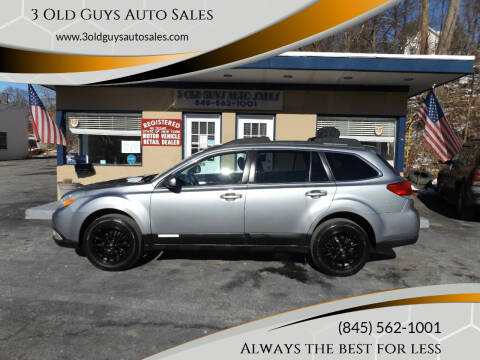 2011 Subaru Outback for sale at 3 Old Guys Auto Sales in Newburgh NY