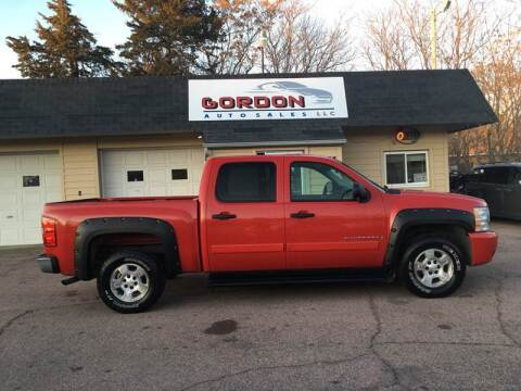 2007 Chevrolet Silverado 1500 for sale at Gordon Auto Sales LLC in Sioux City IA