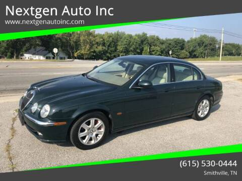 2003 Jaguar S-Type for sale at Nextgen Auto Inc in Smithville TN