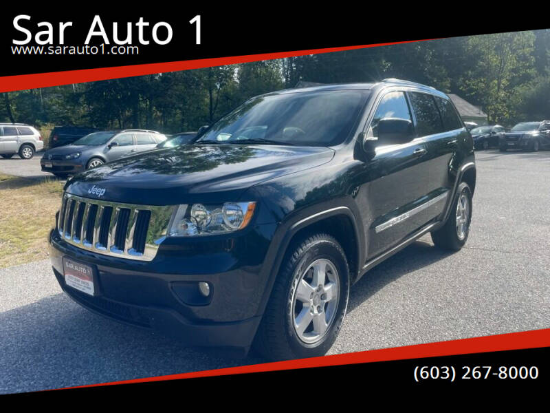 2012 Jeep Grand Cherokee for sale at Sar Auto 1 in Belmont NH