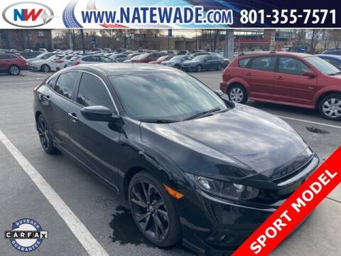 2019 Honda Civic for sale at NATE WADE SUBARU in Salt Lake City UT