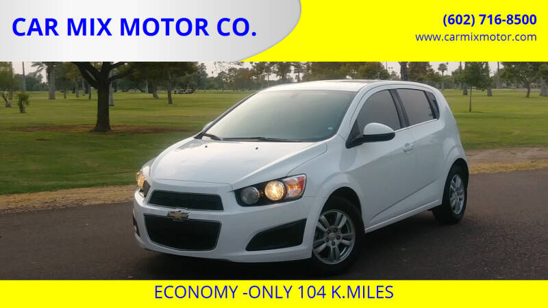 2013 Chevrolet Sonic for sale at CAR MIX MOTOR CO. in Phoenix AZ