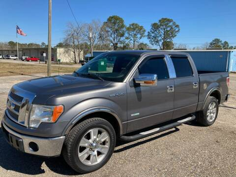 2013 Ford F-150 for sale at Autofinders in Gulfport MS