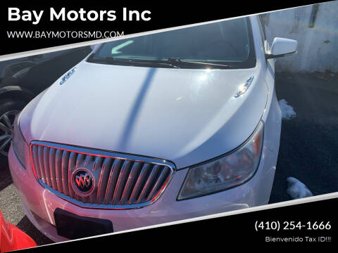 2010 Buick LaCrosse for sale at Bay Motors Inc in Baltimore MD