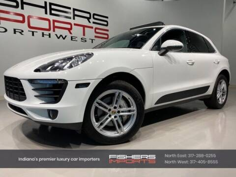 2017 Porsche Macan for sale at Fishers Imports in Fishers IN