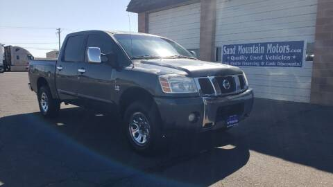 2004 Nissan Titan for sale at Sand Mountain Motors in Fallon NV