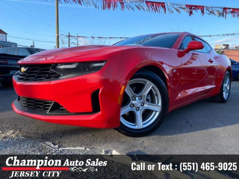 2020 Chevrolet Camaro for sale at CHAMPION AUTO SALES OF JERSEY CITY in Jersey City NJ