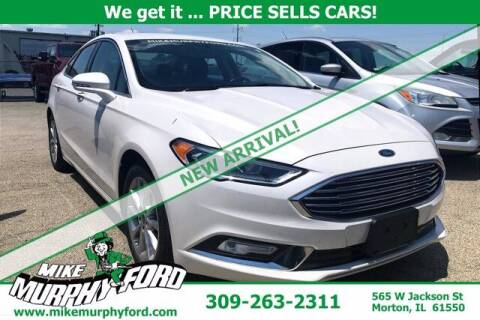 2017 Ford Fusion for sale at Mike Murphy Ford in Morton IL