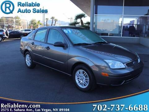 2007 Ford Focus for sale at Reliable Auto Sales in Las Vegas NV