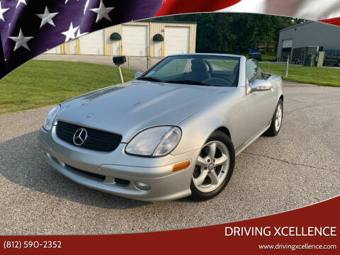 2003 Mercedes-Benz SLK for sale at Driving Xcellence in Jeffersonville IN