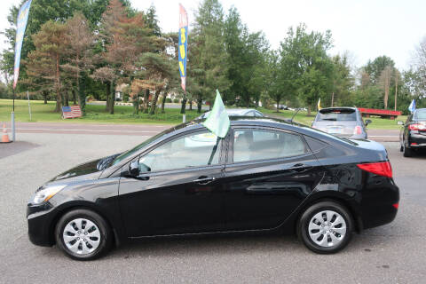 2016 Hyundai Accent for sale at GEG Automotive in Gilbertsville PA