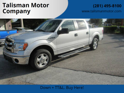 2013 Ford F-150 for sale at Talisman Motor Company in Houston TX
