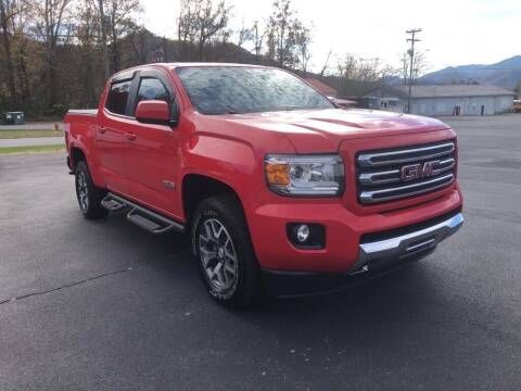 2016 GMC Canyon for sale at KNK AUTOMOTIVE in Erwin TN