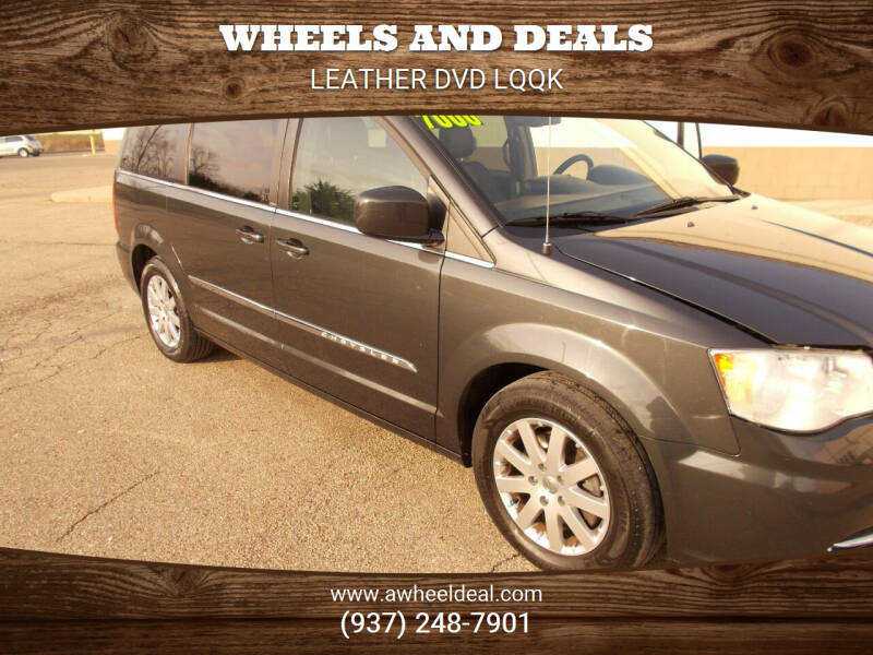 2012 Chrysler Town and Country for sale at Wheels and Deals in New Lebanon OH