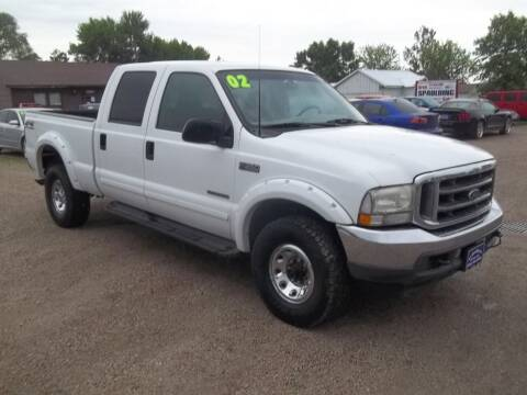 2002 Ford F-350 Super Duty for sale at BRETT SPAULDING SALES in Onawa IA