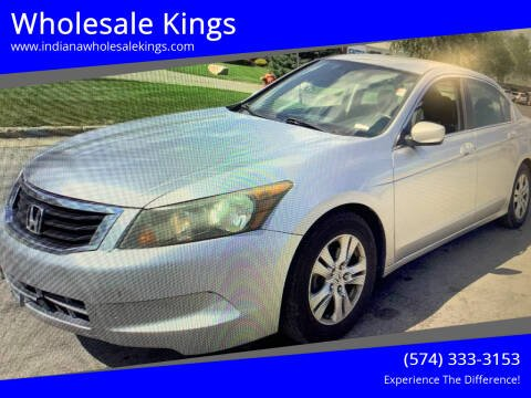 2009 Honda Accord for sale at Wholesale Kings in Elkhart IN