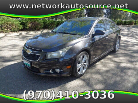 2014 Chevrolet Cruze for sale at Network Auto Source in Loveland CO