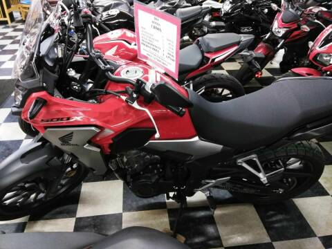 2019 Honda CB500X for sale at Irv Thomas Honda Suzuki Polaris in Corpus Christi TX