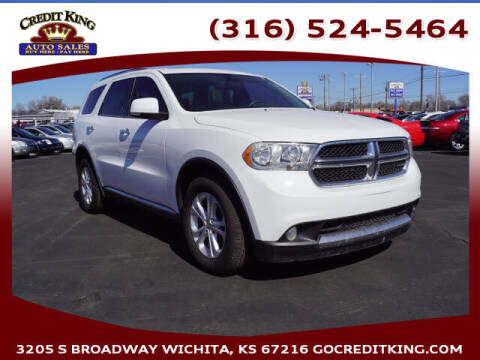 2013 Dodge Durango for sale at Credit King Auto Sales in Wichita KS
