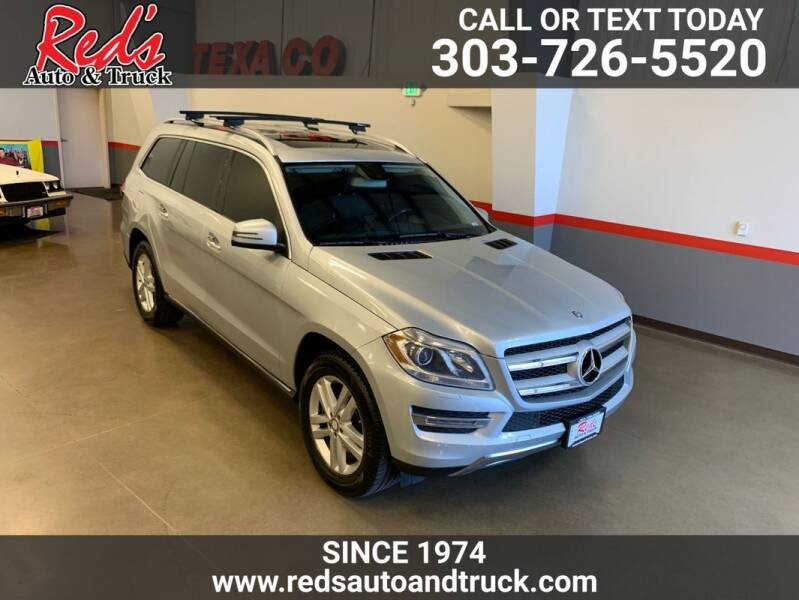 2015 Mercedes-Benz GL-Class for sale at Red's Auto and Truck in Longmont CO
