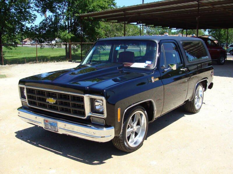 1978 Chevrolet Blazer for sale at Texas Truck Deals in Corsicana TX