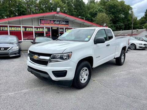 2015 Chevrolet Colorado for sale at Mira Auto Sales in Raleigh NC