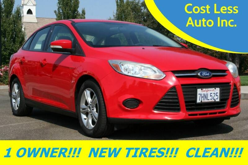 2014 Ford Focus for sale at Cost Less Auto Inc. in Rocklin CA