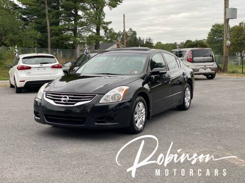 2012 Nissan Altima for sale at Robinson Motorcars in Hedgesville WV