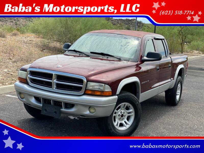 2002 Dodge Dakota for sale at Baba's Motorsports, LLC in Phoenix AZ