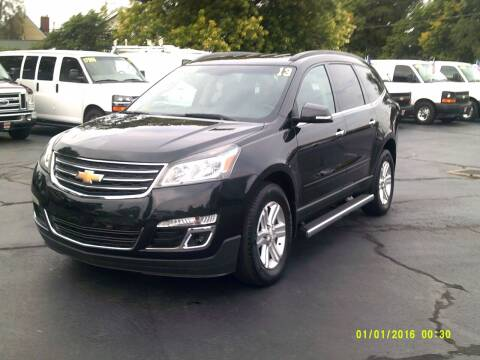 2013 Chevrolet Traverse for sale at Stoltz Motors in Troy OH
