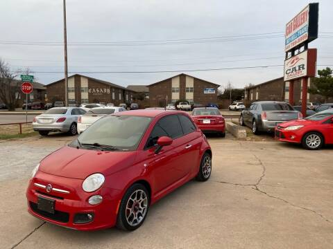 2015 FIAT 500 for sale at Car Gallery in Oklahoma City OK