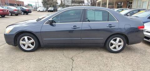 2004 Honda Accord for sale at Tims Auto Sales in Rocky Mount NC