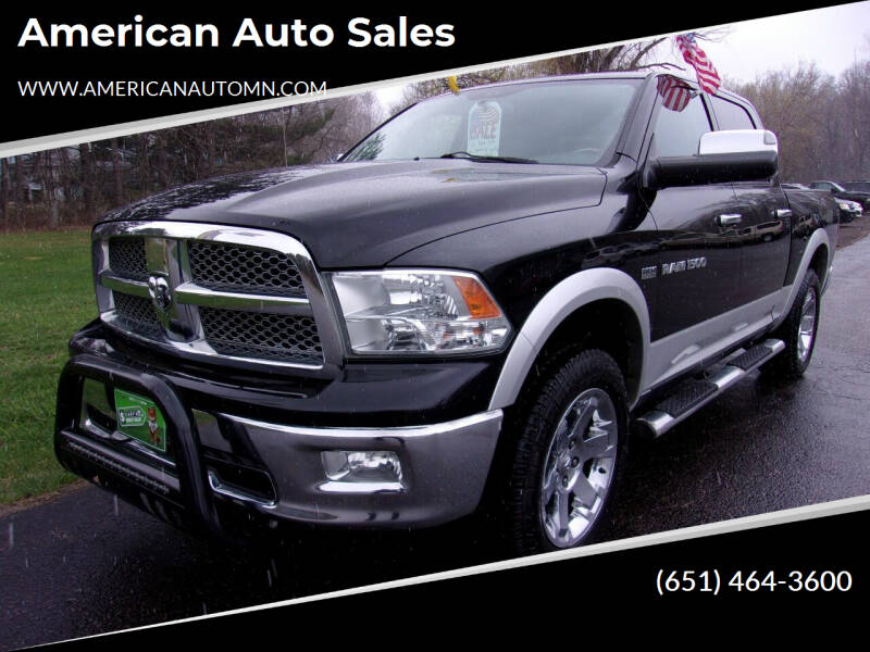 2012 RAM Ram Pickup 1500 for sale at American Auto Sales in Forest Lake MN