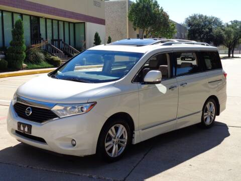2012 Nissan Quest for sale at Auto Starlight in Dallas TX