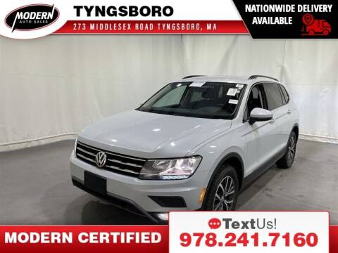 2018 Volkswagen Tiguan for sale at Modern Auto Sales in Tyngsboro MA