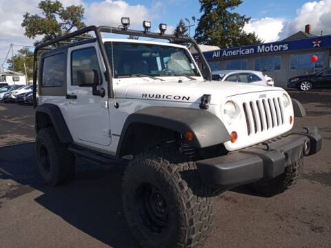 2008 Jeep Wrangler for sale at All American Motors in Tacoma WA