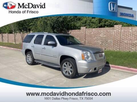 2012 GMC Yukon for sale at DAVID McDAVID HONDA OF IRVING in Irving TX