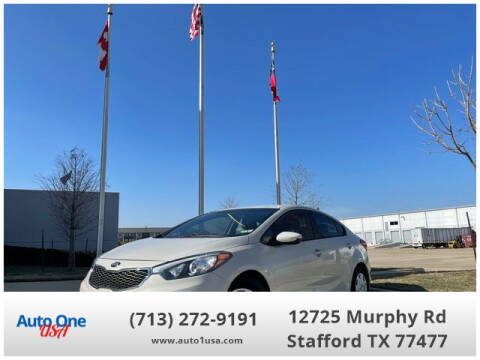 2014 Kia Forte for sale at Auto One USA in Stafford TX